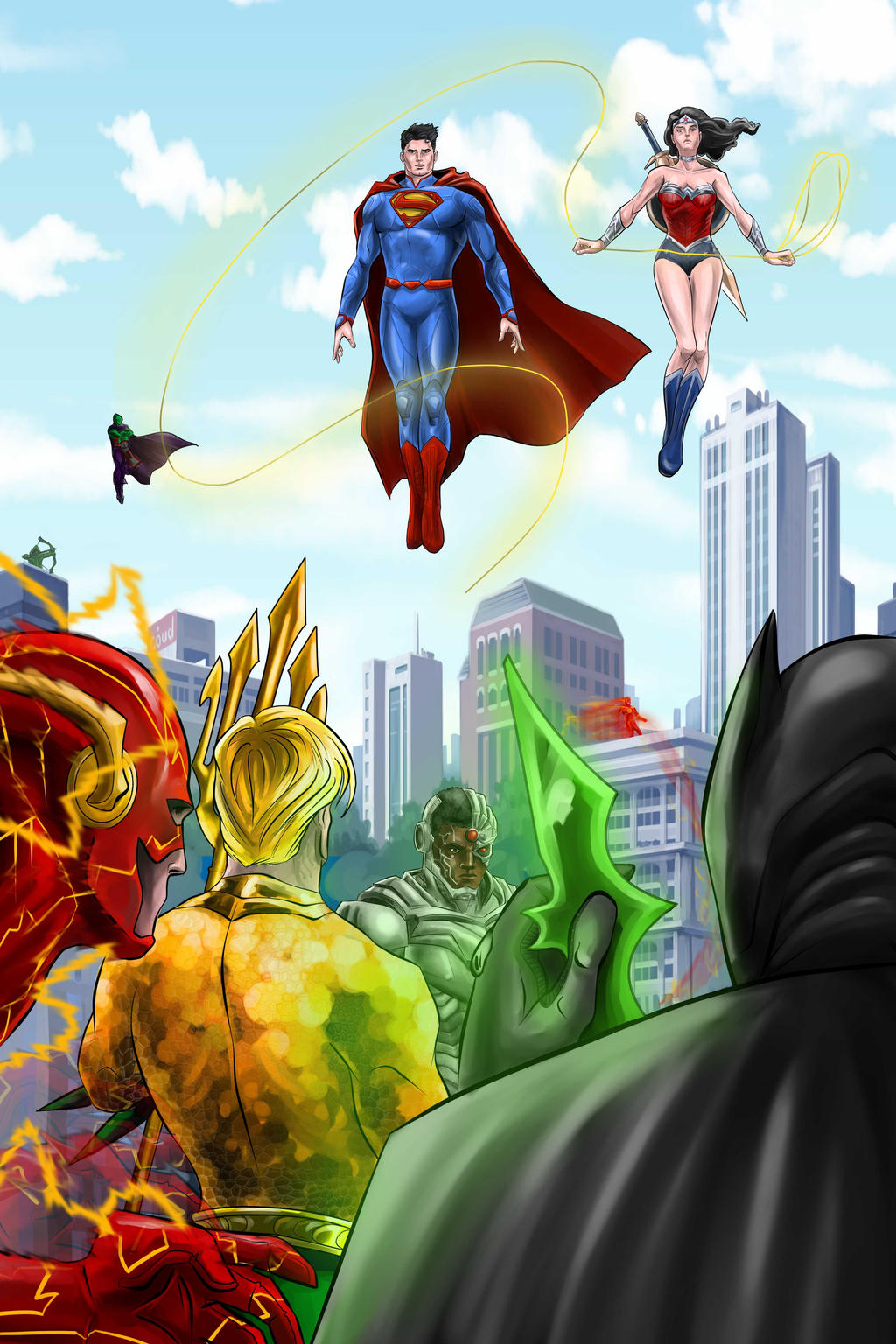 Justice League by Nezotholem