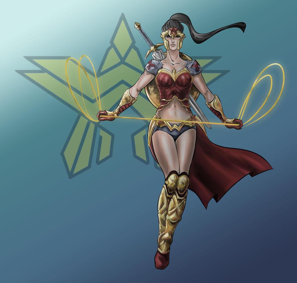 Wonder Woman by Nezotholem