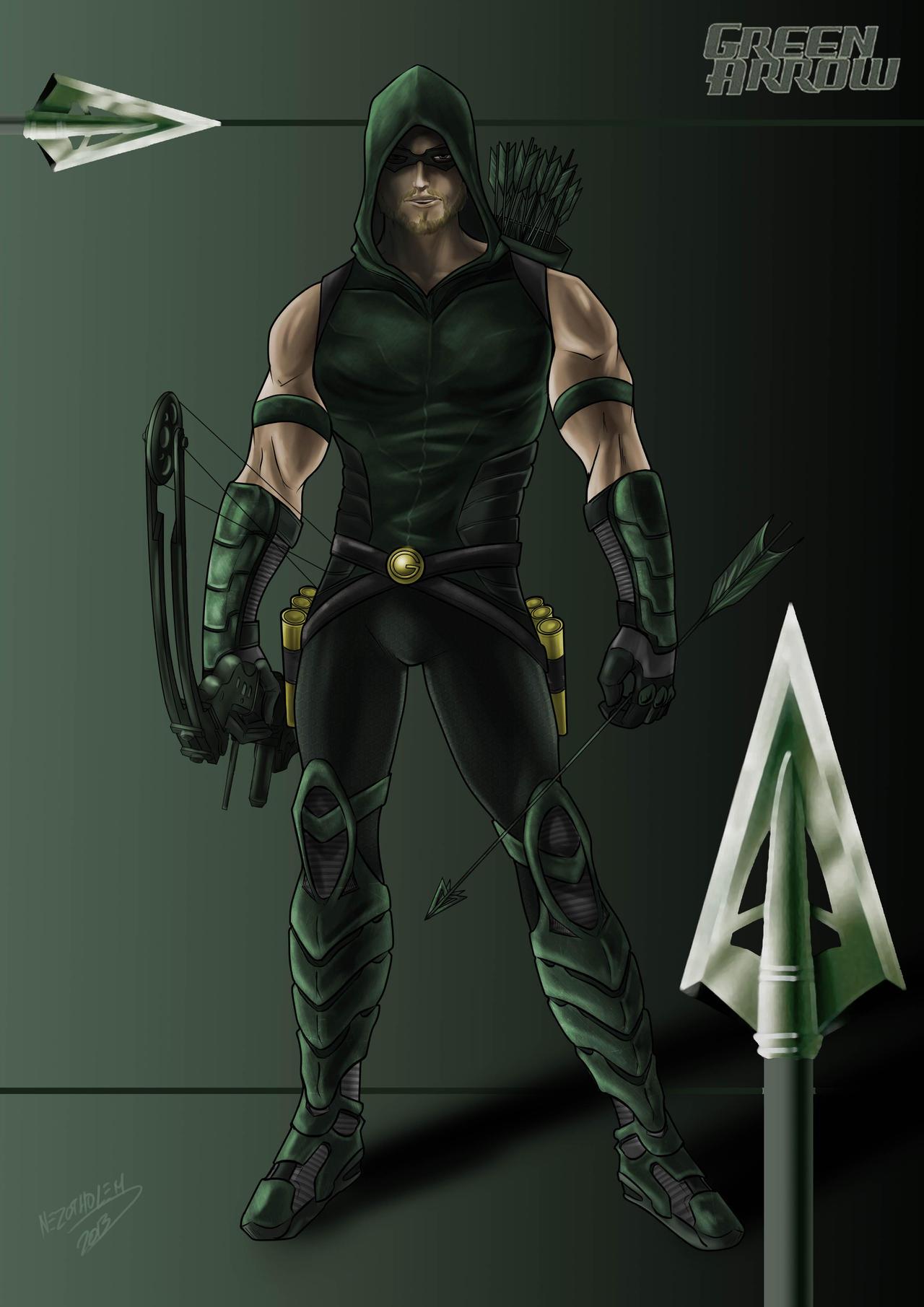 Green Arrow New 52 Wallpaper Green Arrow by Nezotho...