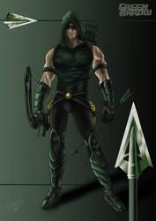 Green Arrow by Nezotholem