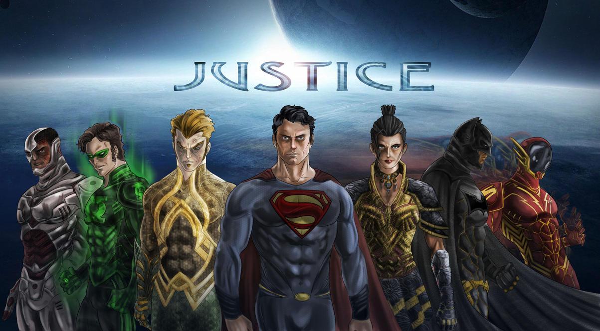 Justice League Movie by Nezotholem