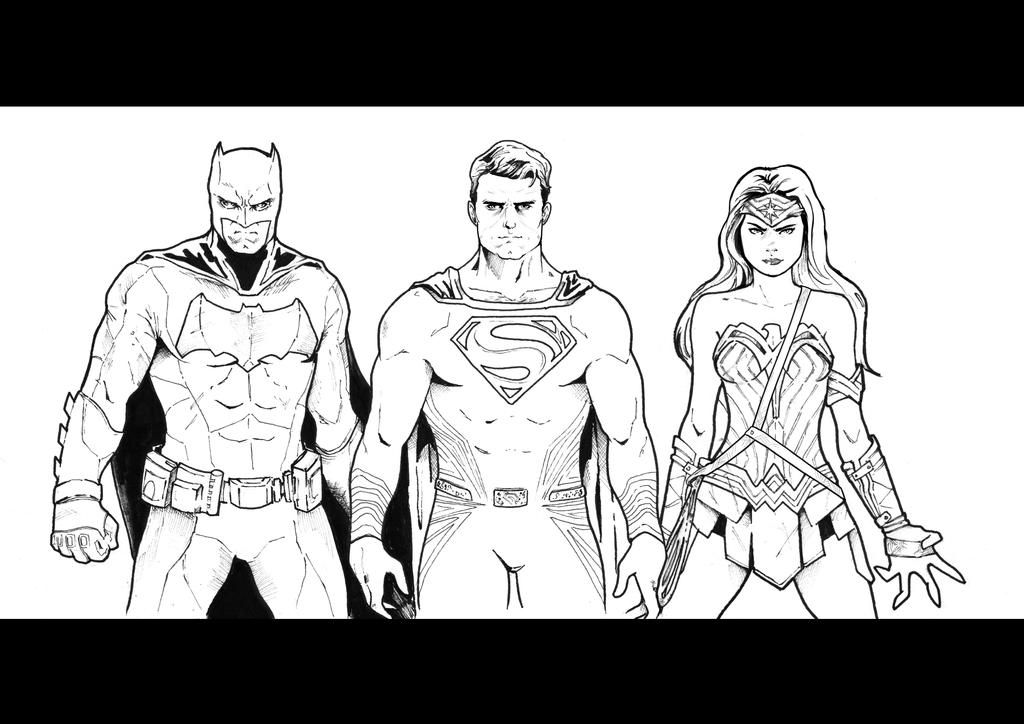 BATMAN V SUPERMAN Dawn Of Justice - Sketch By Nezotholem On DeviantArt