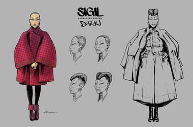 Character Design:  Daiyu by Nezotholem
