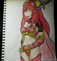Alexstrasza the Life-Binder from World of Warcraft by truonant