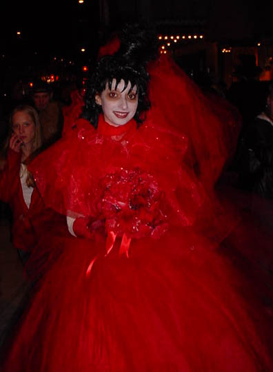 Lydia Red Wedding Dress Beetlejuice
