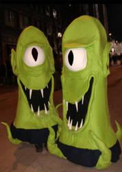 2008 Kang and Kodos by Halloweeners