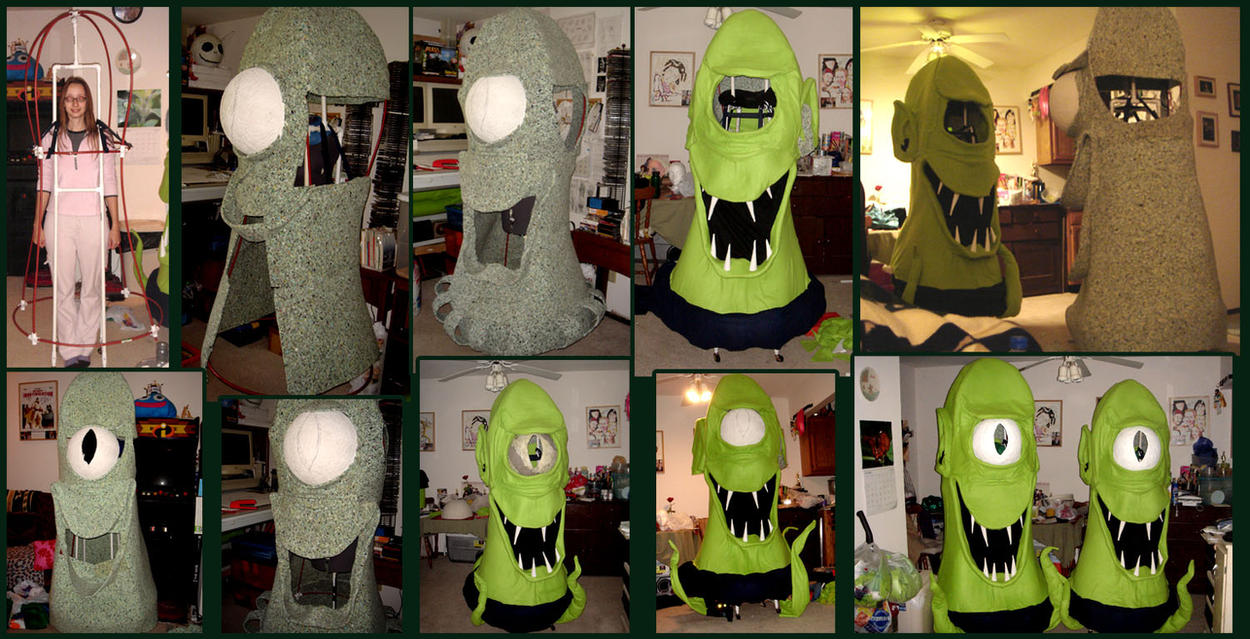 Kang And Kodos Revealed By Halloweeners On Deviantart