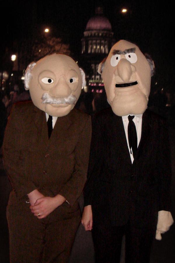 2009 Statler and Waldorf by Halloweeners