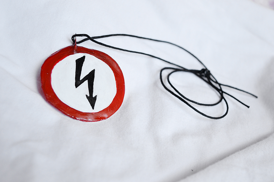 Marilyn Manson Shock Symbol By Anyshapenecklaces On Deviantart