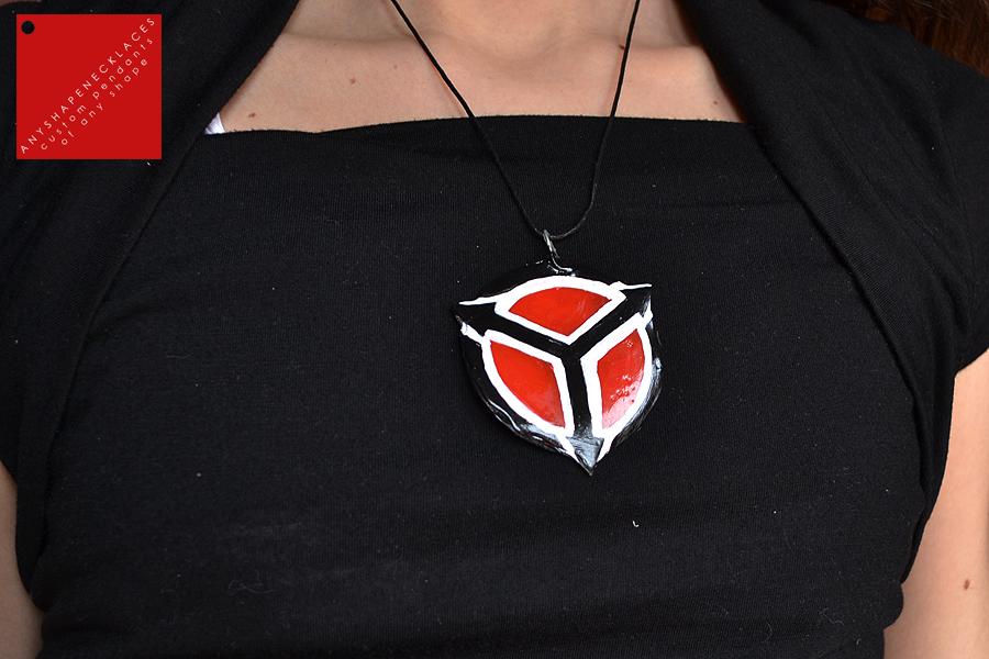Helghast symbol pendant by AnyShapeNecklaces on DeviantArt  Helghast symbol...