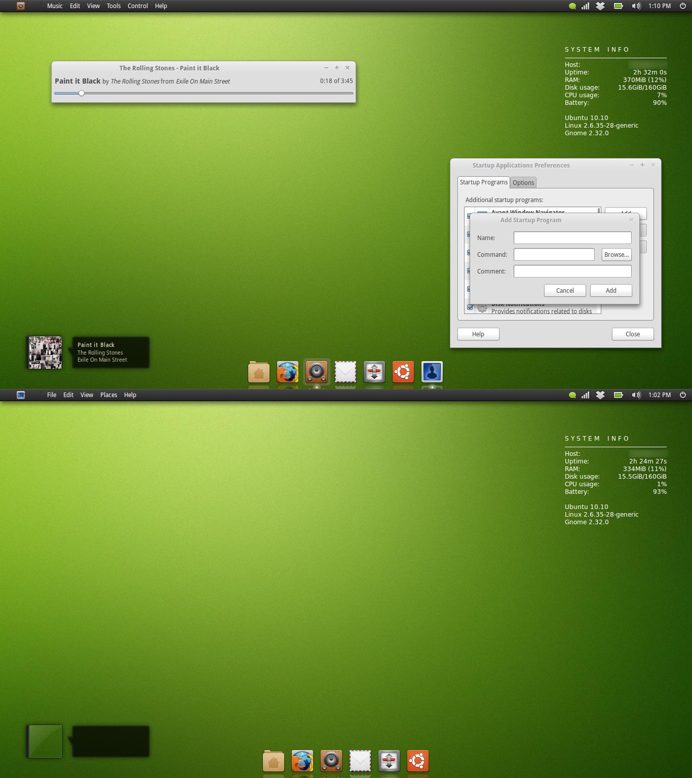 Ubuntu July Screenshot by 1inux