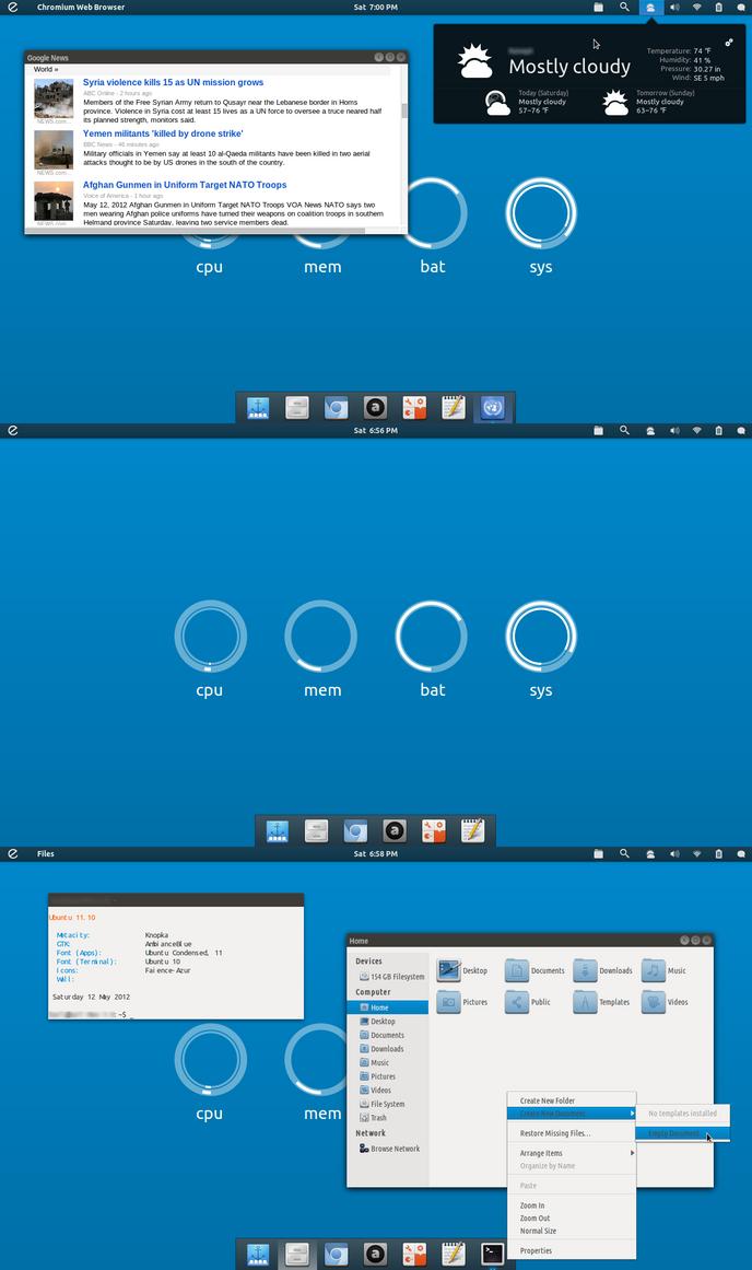 Ubuntu May Screenshot by 1inux