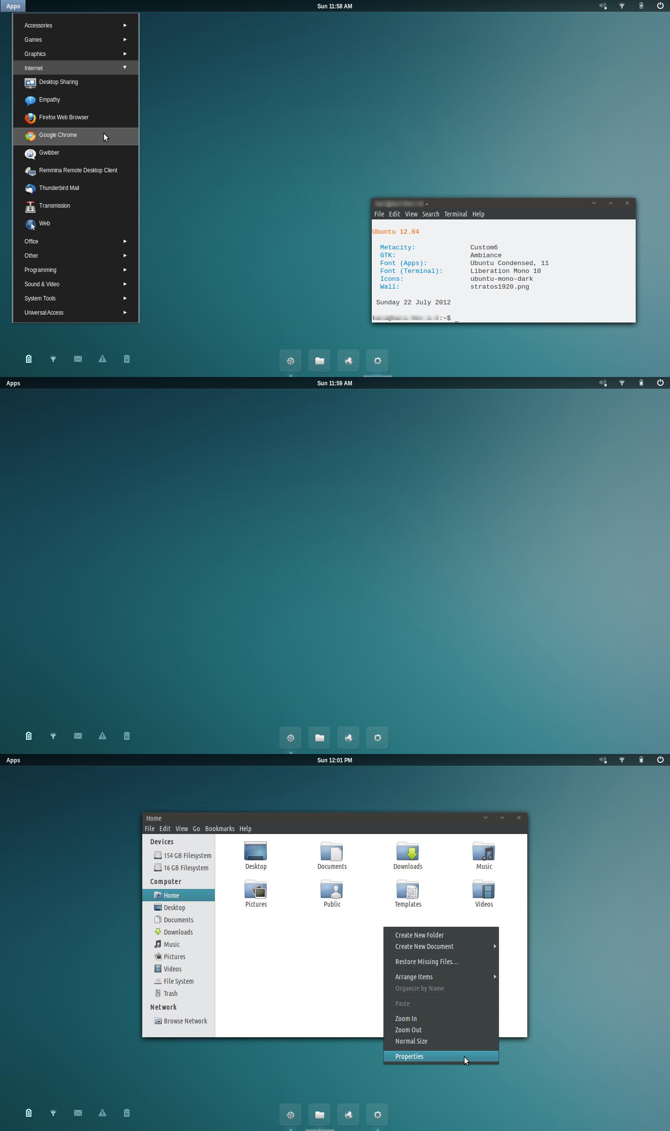Minimal Ubuntu by 1inux