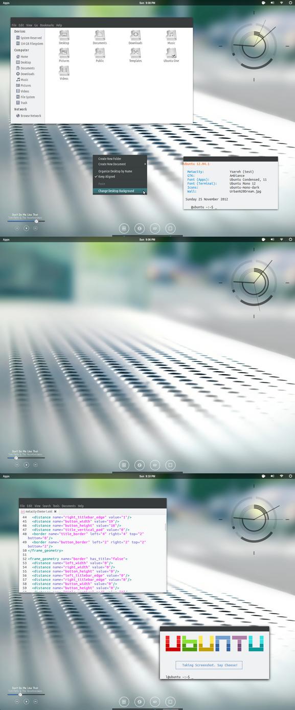 Ubuntu November Screenshot by 1inux
