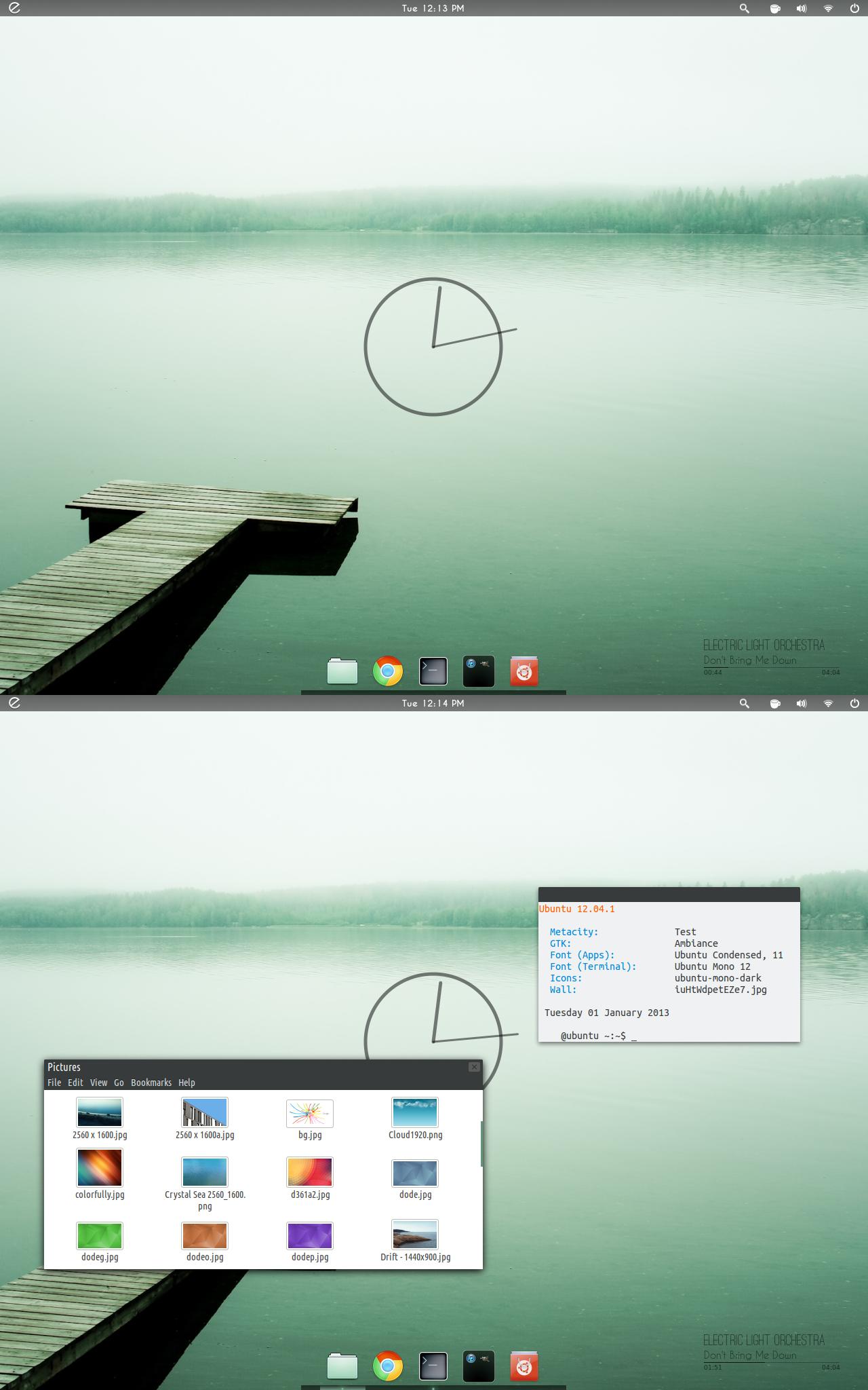Ubuntu January Screenshot by 1inux