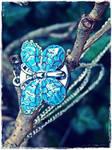 Turquoise Harmony II by MadeByHand