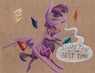 Study Time is the Best Time by getchanoodlewet