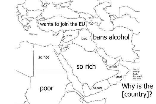 Why Is Middle East [Country] [???????]