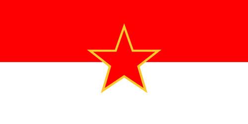 Socialist Republic of Indonesia Flag