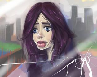 Jessica Jones caricature by famorphing