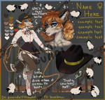 [CLOSED] Coyote Cowgirl Adopt!