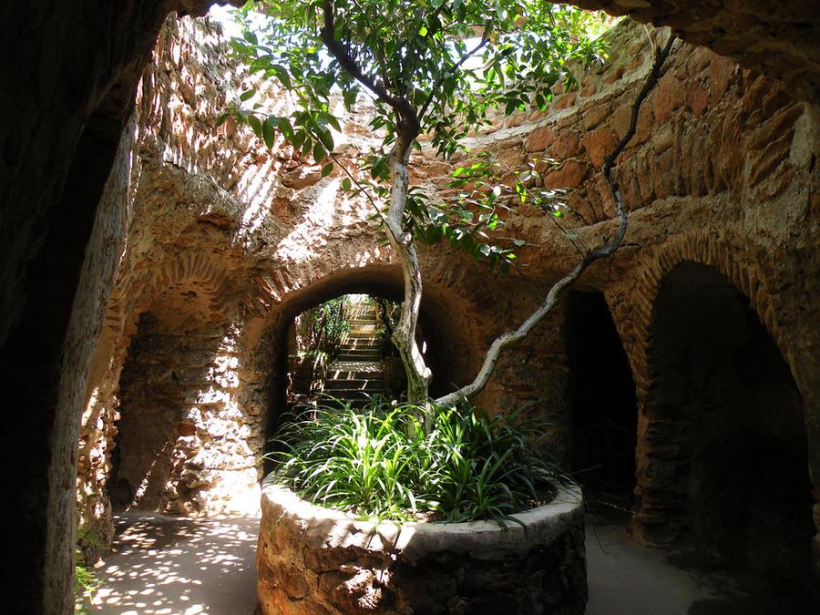 forestiere underground gardens by abraxas within on deviantart