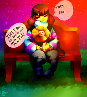 Frisk Don't Cry by SmasherlovesEvil
