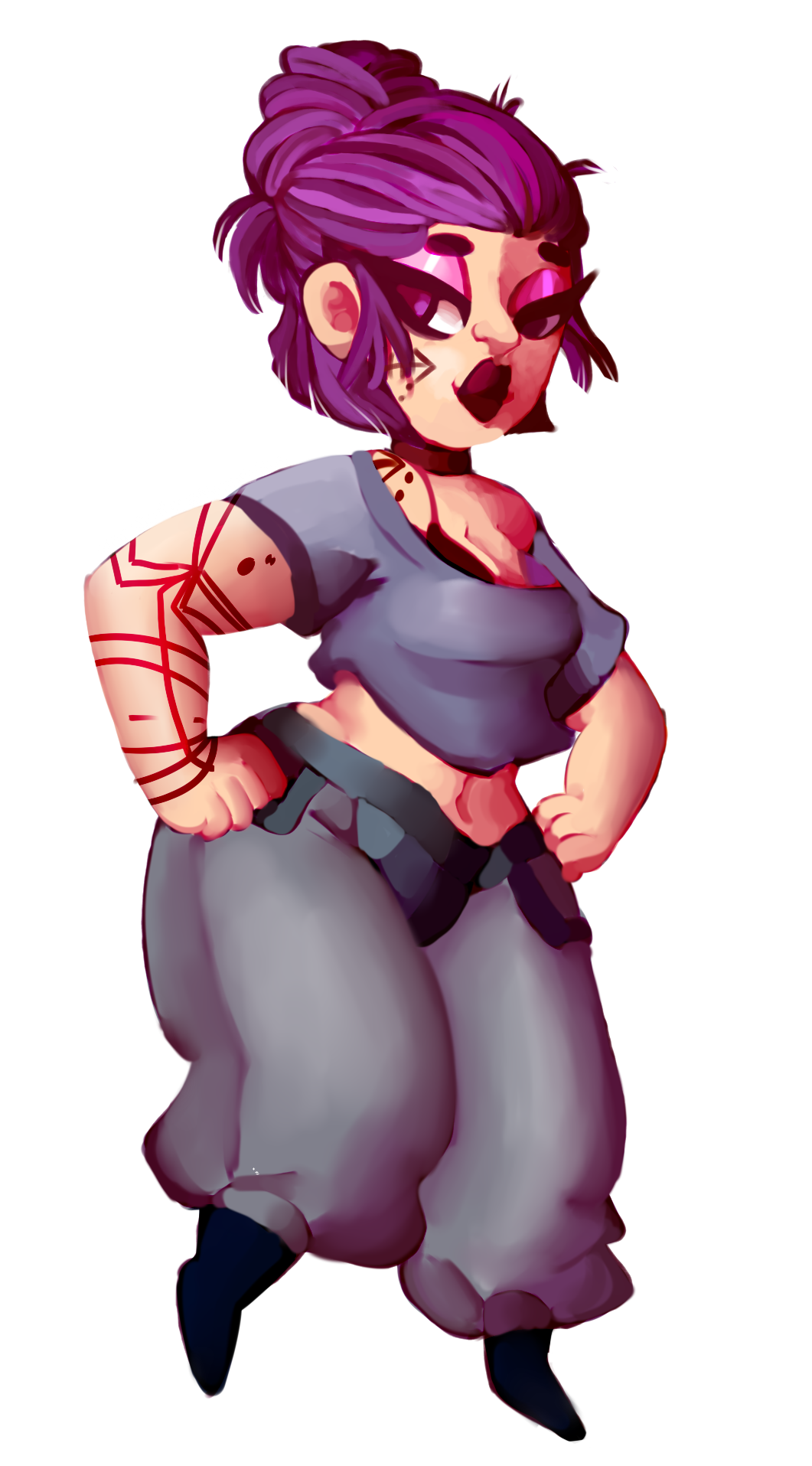 Dominican oc [COMMISSION] by SmasherlovesBunny500