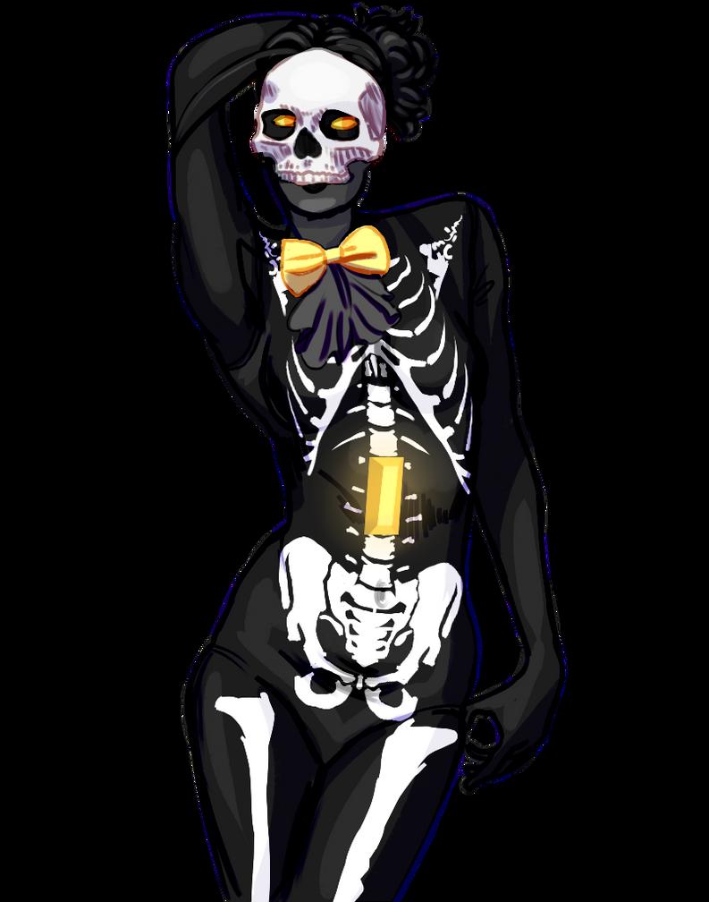 Skeleton Qaurtz by SmasherlovesEvil