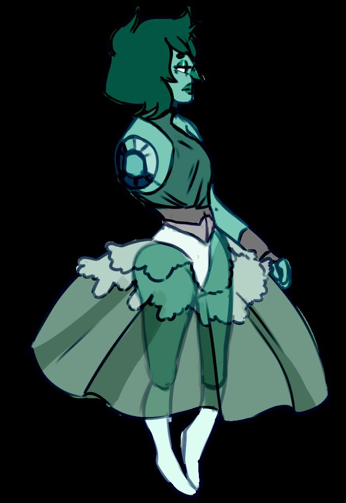 Smithsonite pretty dress by SmasherlovesBunny500