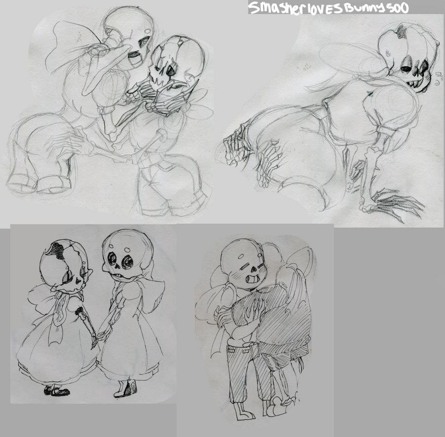 sketch Dump1 by SmasherlovesBunny500