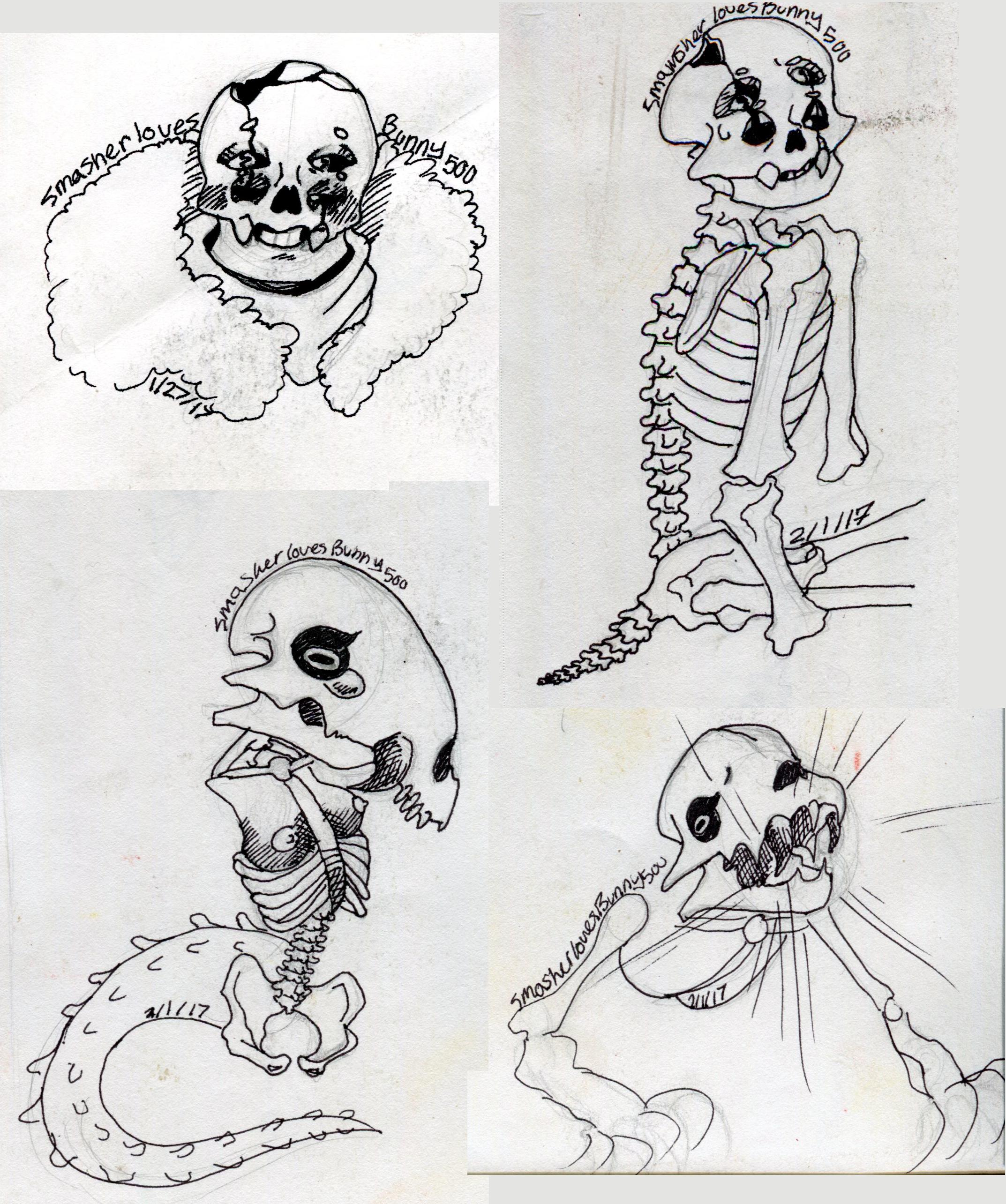 sketch Dump 2 by SmasherlovesBunny500