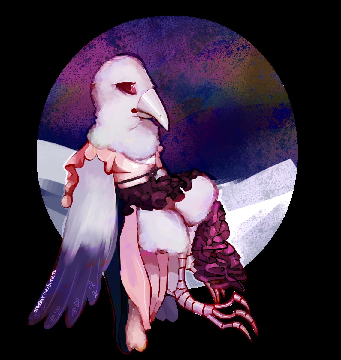 Jaravina Karasuya [ART TRADE] by SmasherlovesBunny500