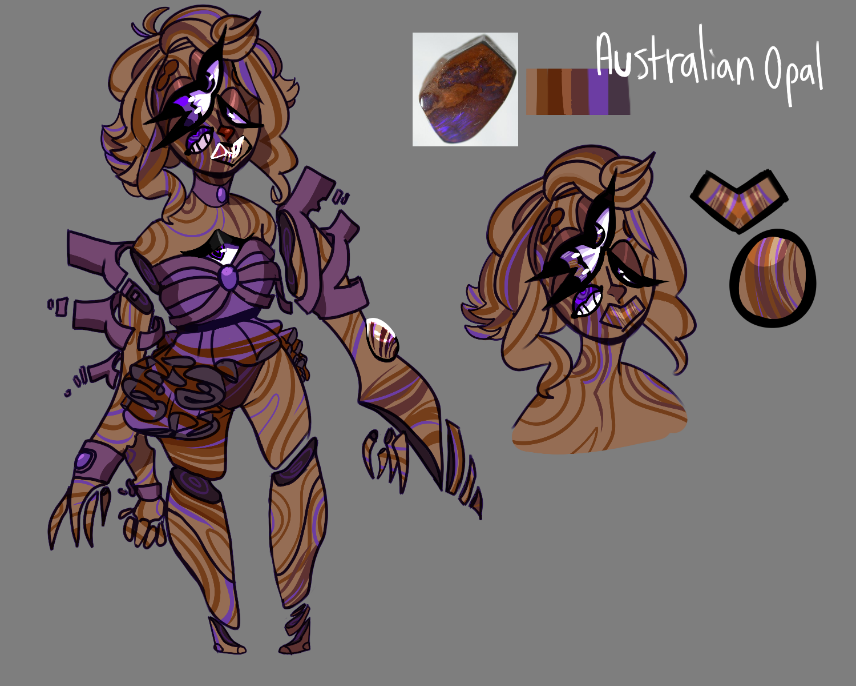 Austrlian Opal by SmasherlovesBunny500