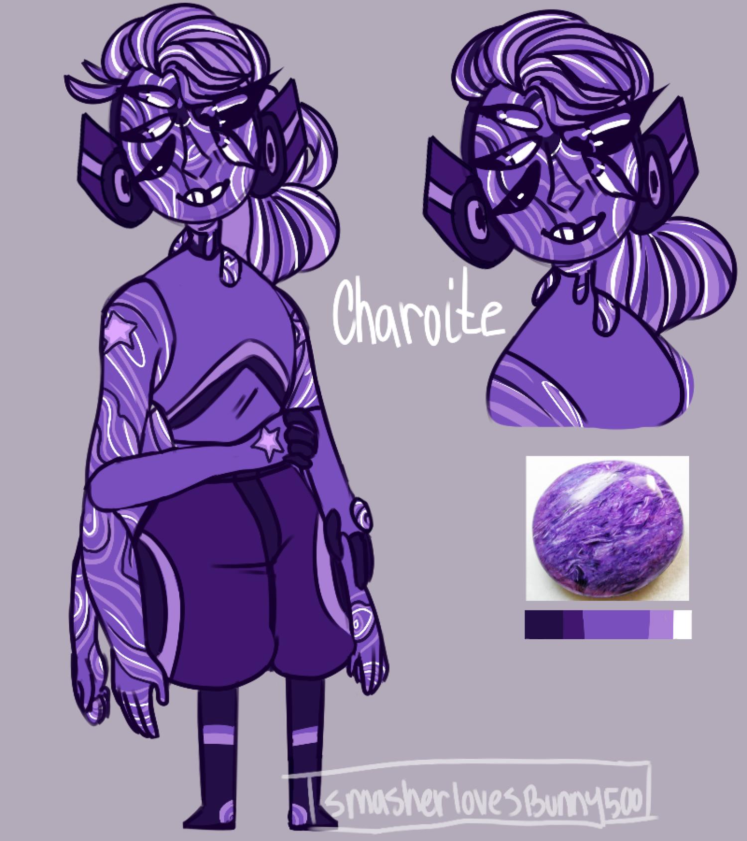 Charoite [GIFT] by SmasherlovesBunny500