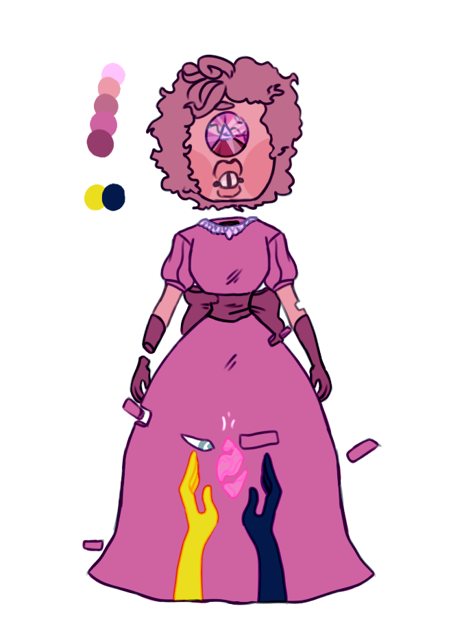 Pink Sapphire by SmasherlovesBunny500