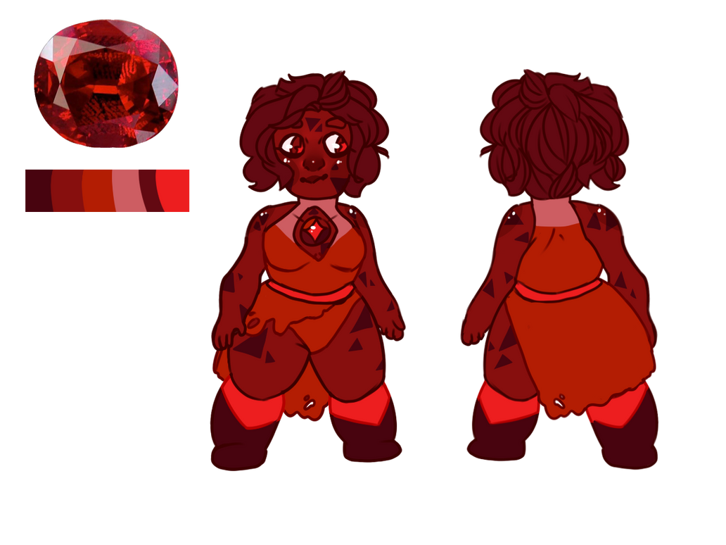 Red Spinel [CUSTOM] by SmasherlovesBunny500