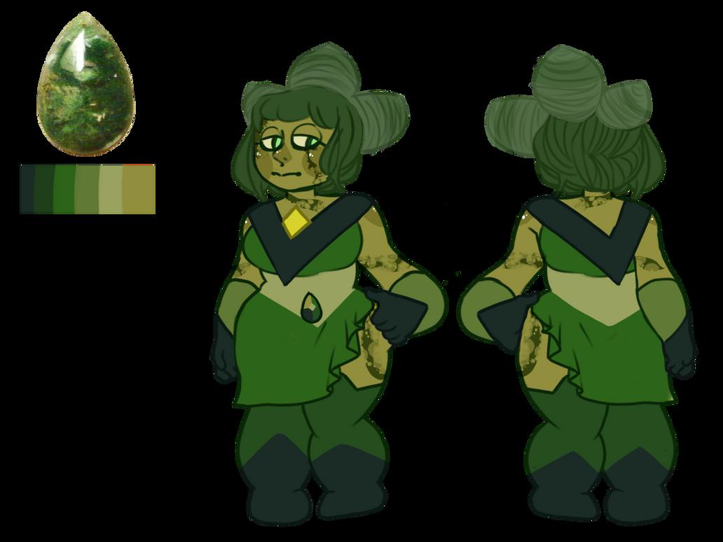 Mossy Green Agate [CUSTOM] by SmasherlovesBunny500