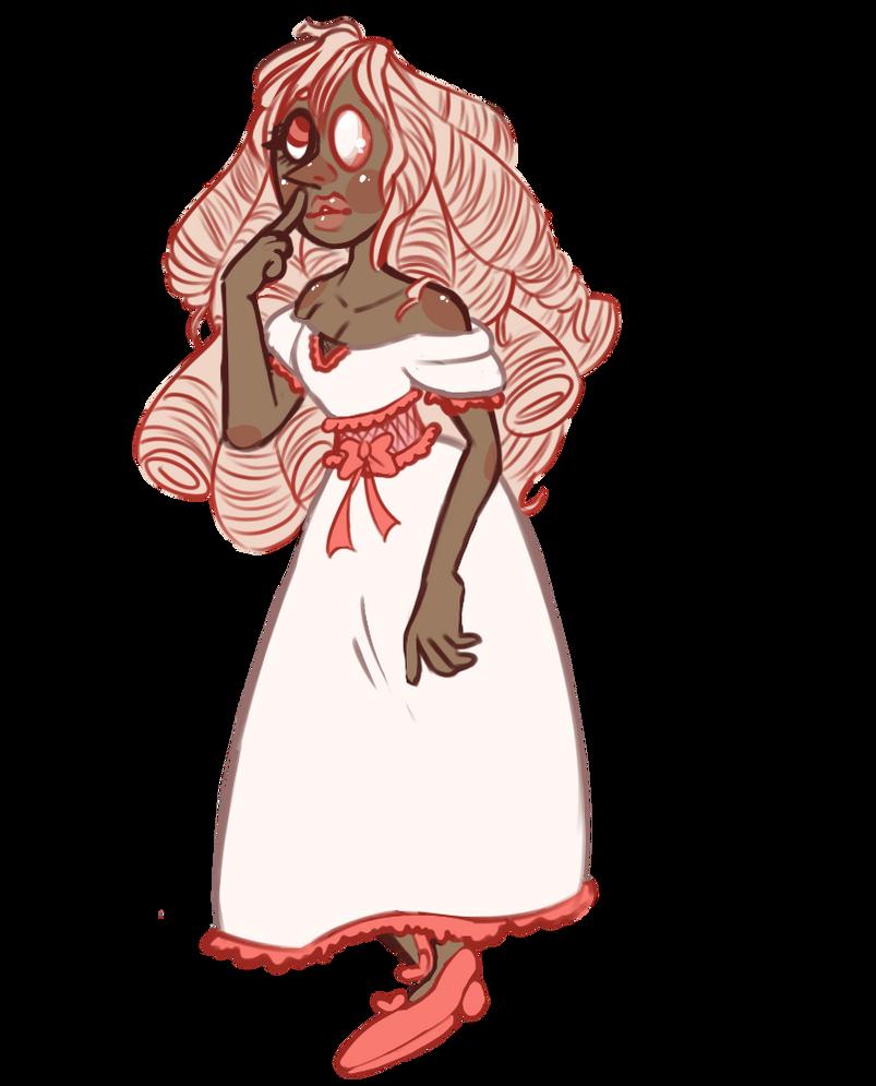 Creamrose Pearl by SmasherlovesBunny500