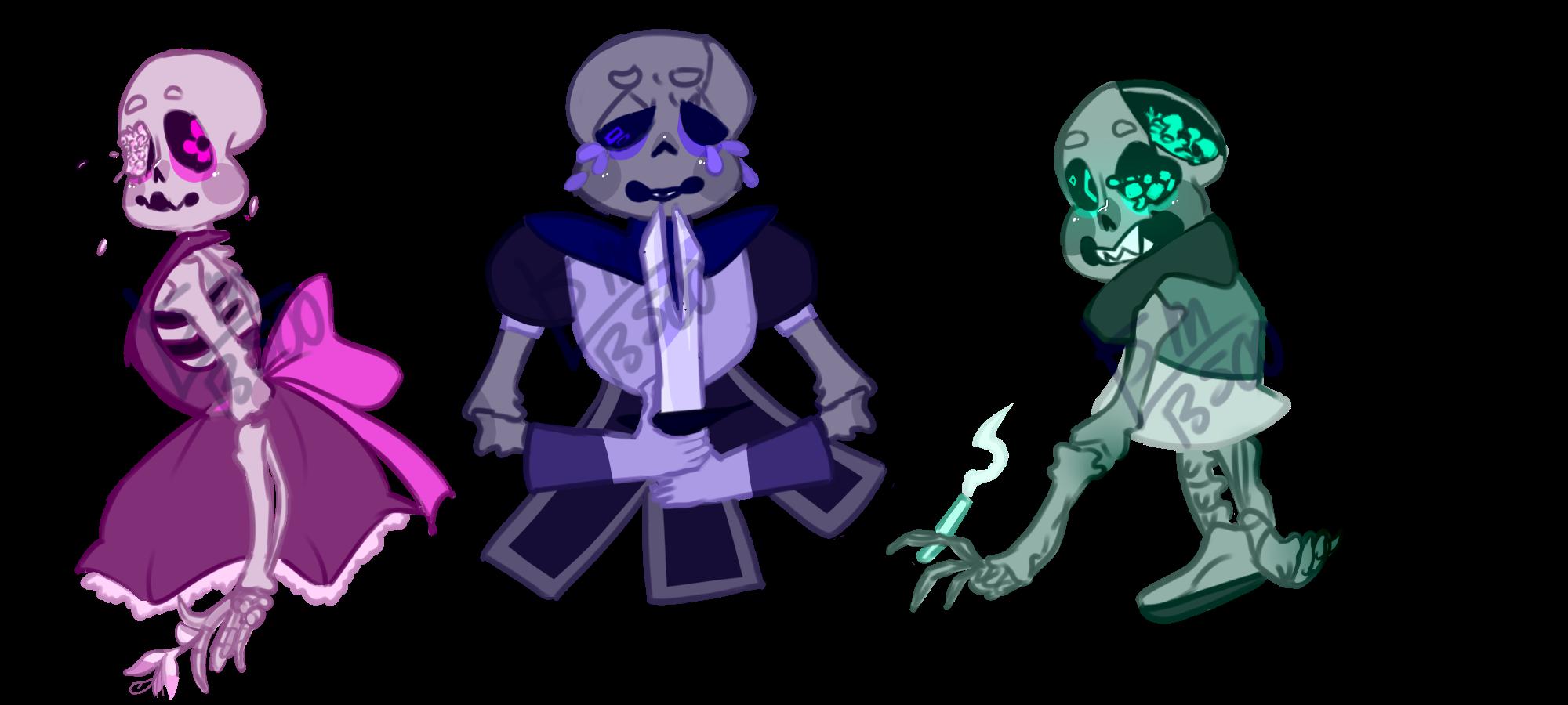 Skeleton Adopts 2 [CLOSED] by SmasherlovesBunny500