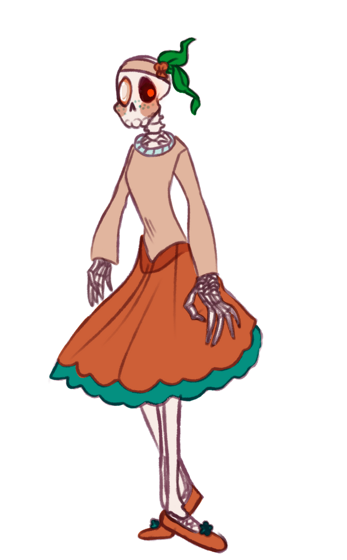 Clambshell Pearl Skelly by SmasherlovesBunny500