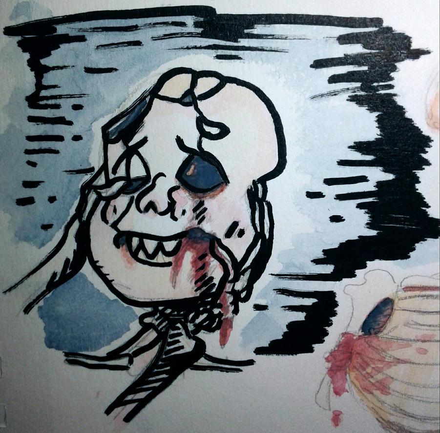 Goretober 2 tooth trauma  by SmasherlovesBunny500