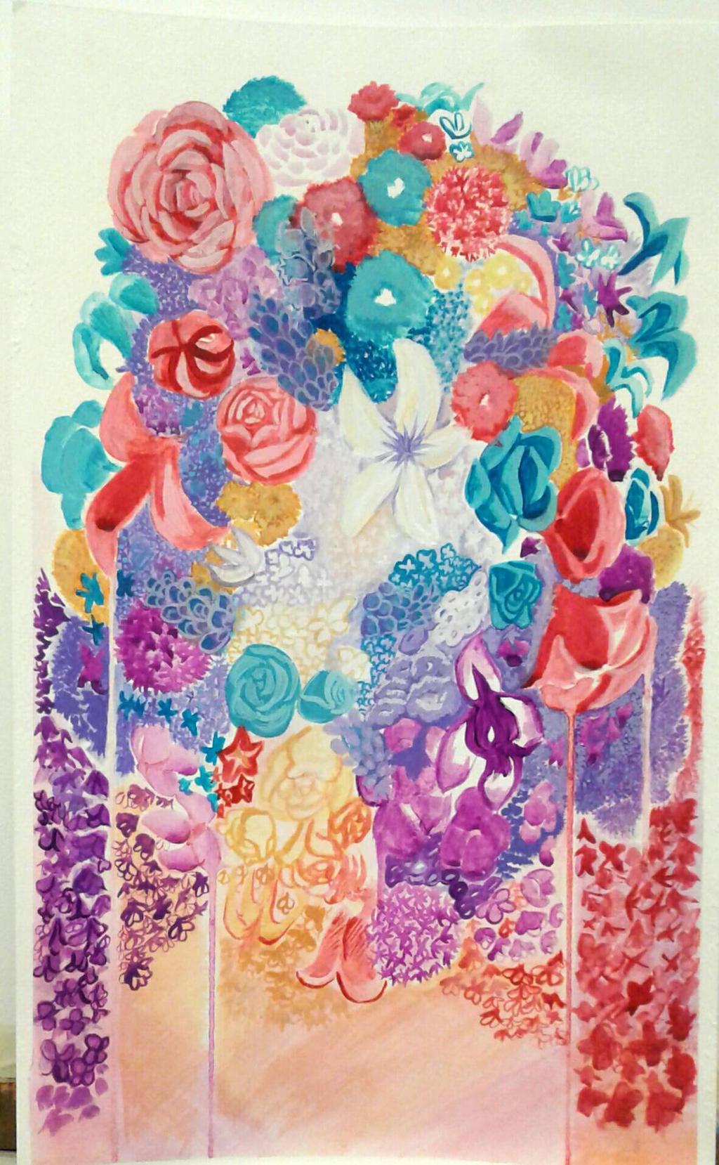 Flower you today? by SmasherlovesBunny500
