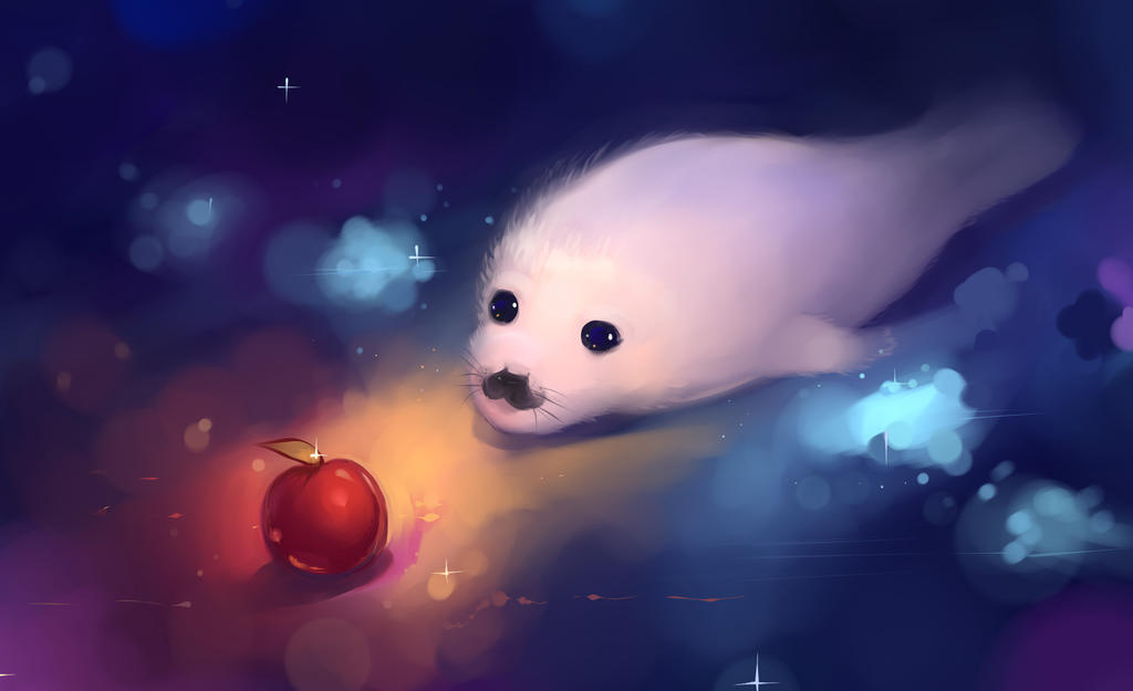 Baby seal by Hangmoon