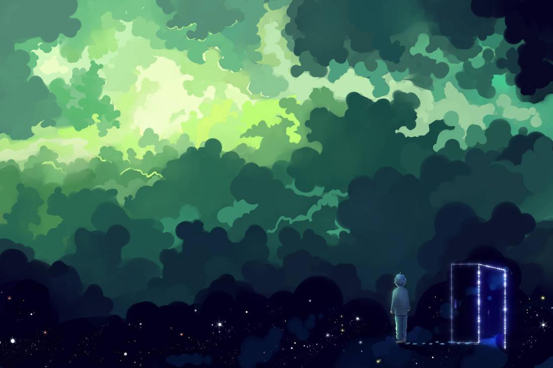Green Dream by Hangmoon