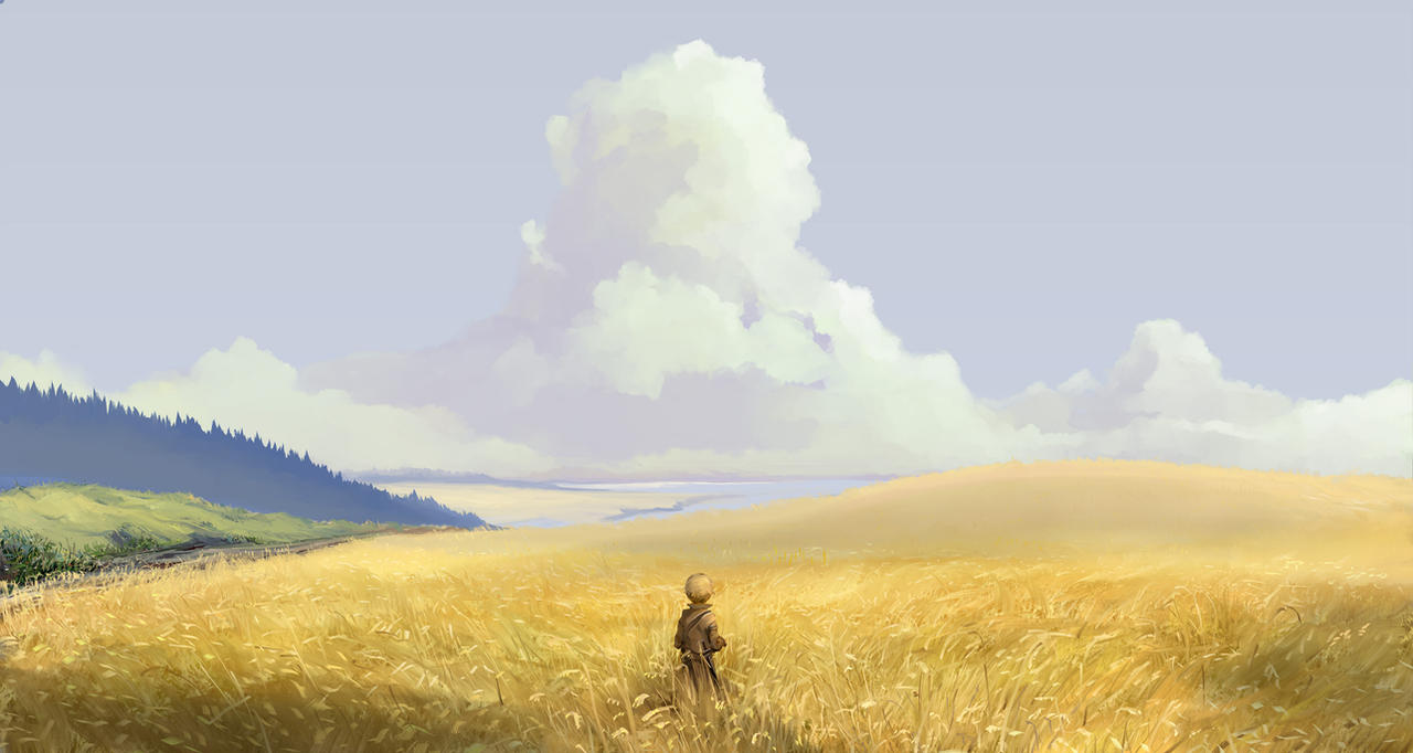 Fields of gold by Hangmoon