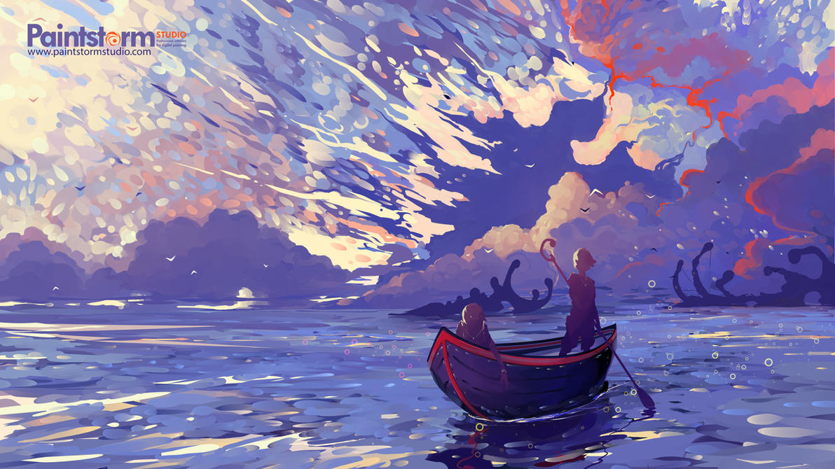 Gold Sea by Hangmoon