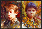 Oil-style portraits