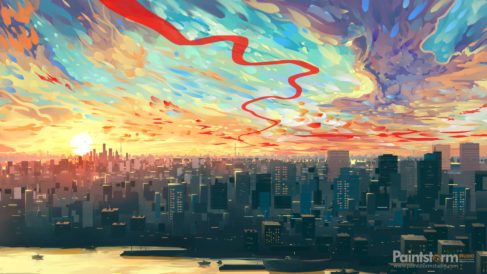 City by Hangmoon