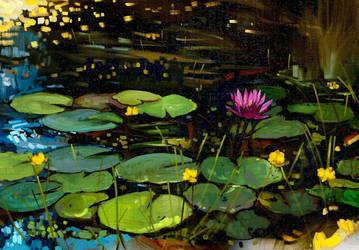Lilies by Hangmoon